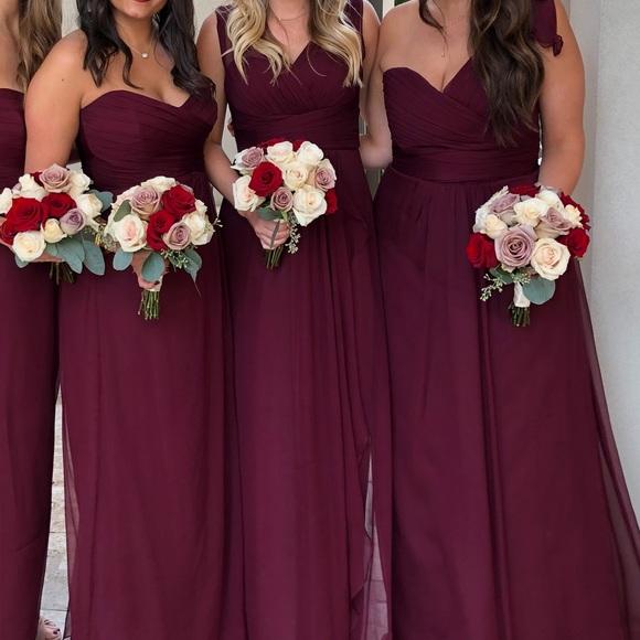 Ruby Bridesmaid Dresses